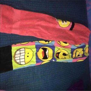 emoji towel pants